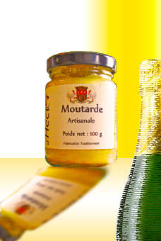 Rustic mustard with Champagne