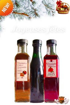 Basket 3 vinegars