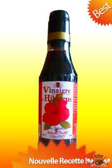 Hibiscus Vinegar 25 cl