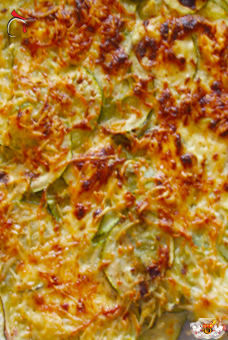 Gratin de courgettes by Hector
